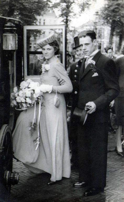 Geertruida Roos en Anthony Slagboom trouwfoto