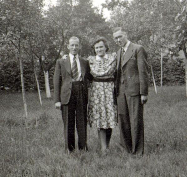 Jan Nagel, Antonia Roos en Hendrik Nagel
