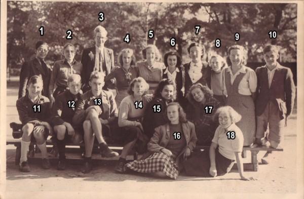 4e klas ULO Oorsprong Baarn