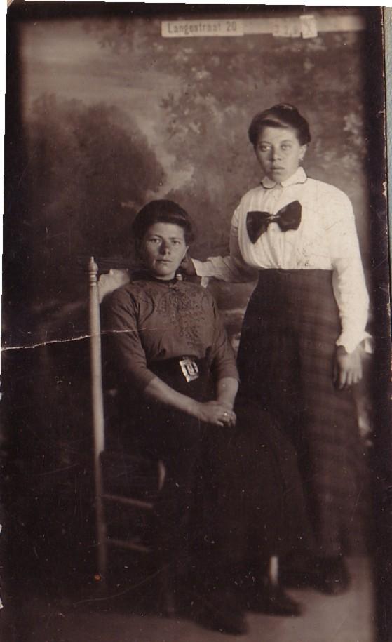 Elisabeth Tammer en Johanna Tammer