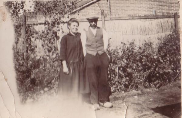 Elisabeth Tammer en Franciscus Wiss