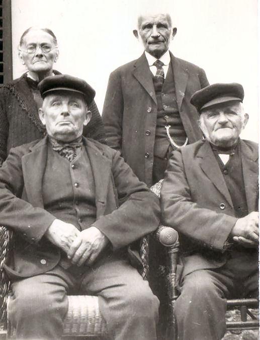 Cornelia, Mengs, Cornelis  en Nicolaas Hornsveld