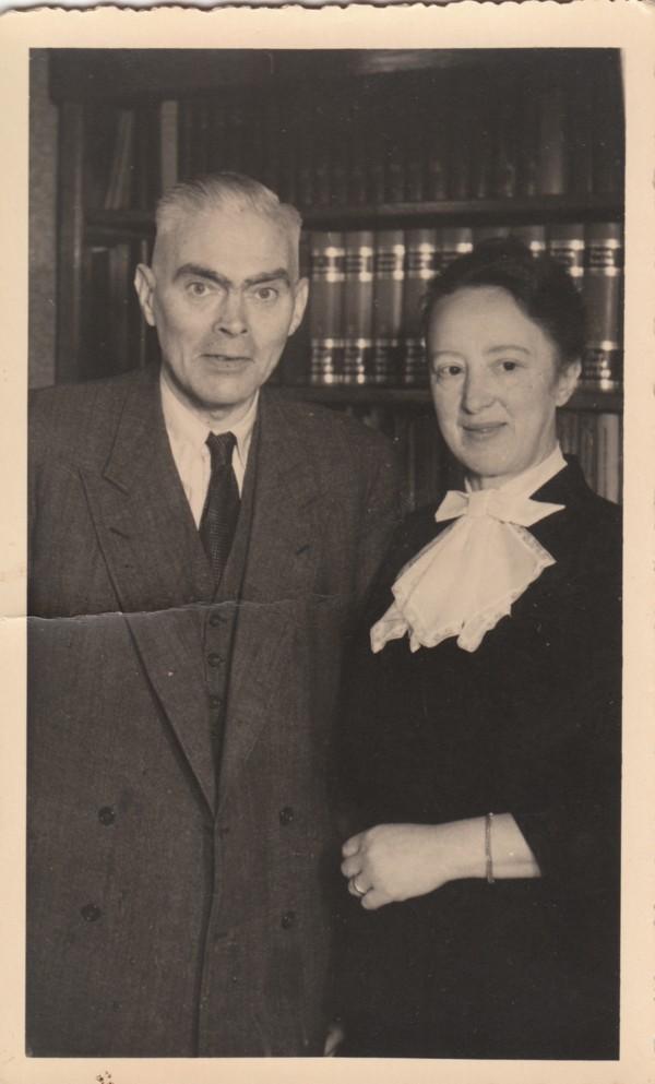 Gerrit Jozef Schouten en Wilhelmina Gijsberta Hilhorst