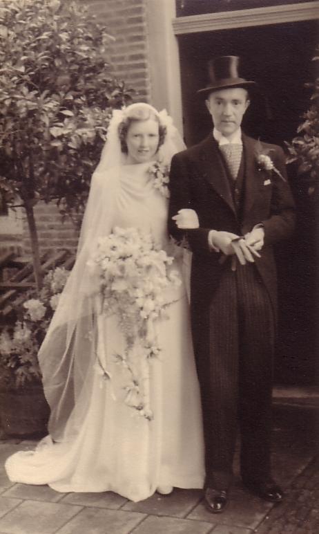 Woutera Maria Schouten en Wouterus Johannes Hilhorst
