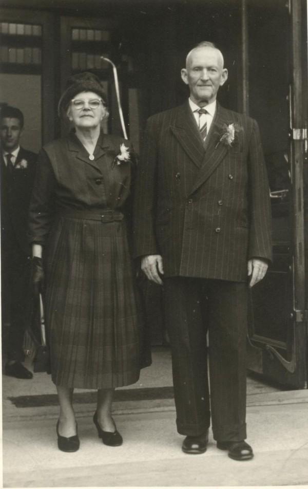 Johanna Veldman en Roelof Kooij
