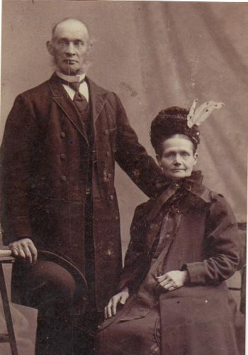 Jan Mooij en Carolina Carbet