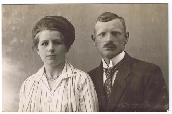 Katharina Hansen en Gijsbertus Ravenhorst