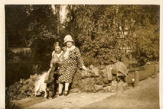 Alberdina A.J. Lagerwij en Susanna Mathilda Lagerwij