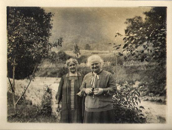 Geertruida Maria Lagerwij en Clasina Maria Lagerwij