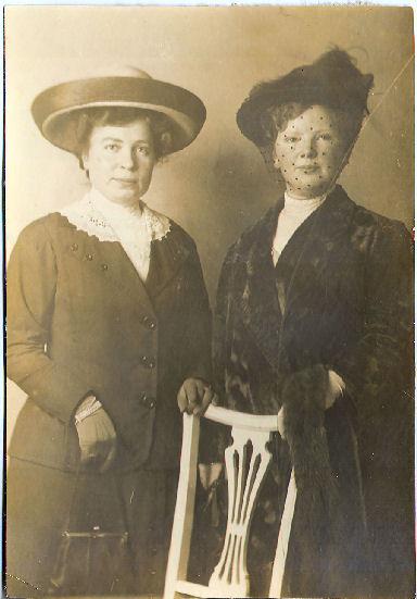 Johanna Maria Hessel en Susanna Mathilda Lagerwij