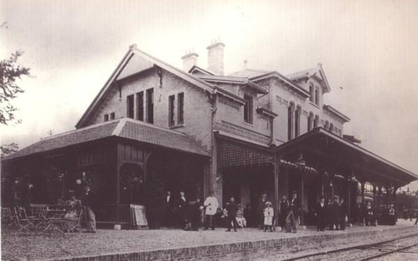 NCS Station Baarn (nu restaurant De Generaal)