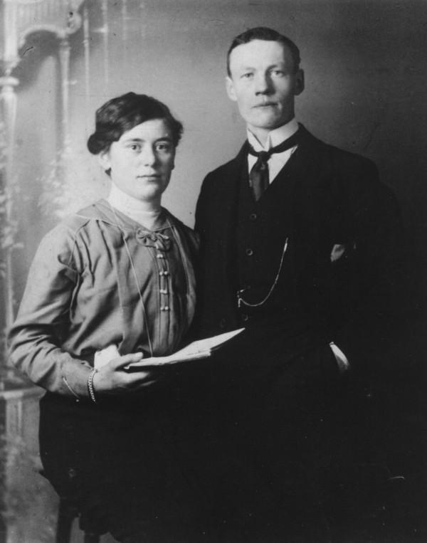 Johanna de Ruiter en Peter Kooij