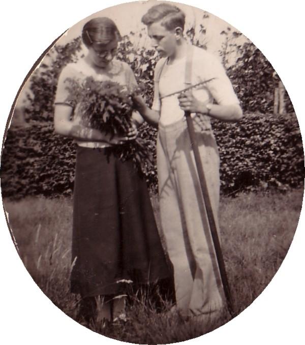 Sipkje Oosting en Willem de Ruiter