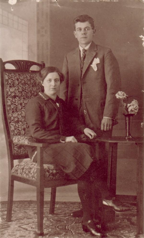 Sophia Veldhuizen en Pieter van Altena
