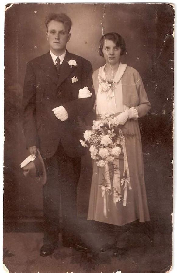 Evert Kuijper en Liseta Josepha de Ruiter trouwfoto