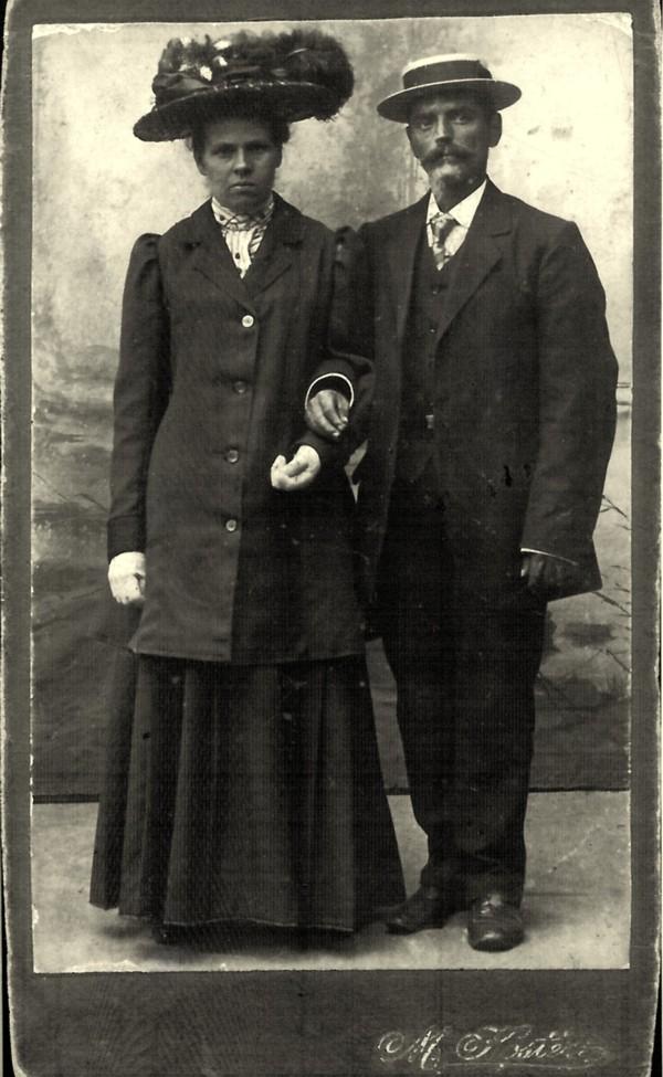 Hermina Maria van Kesteren en Jan de Ruiter