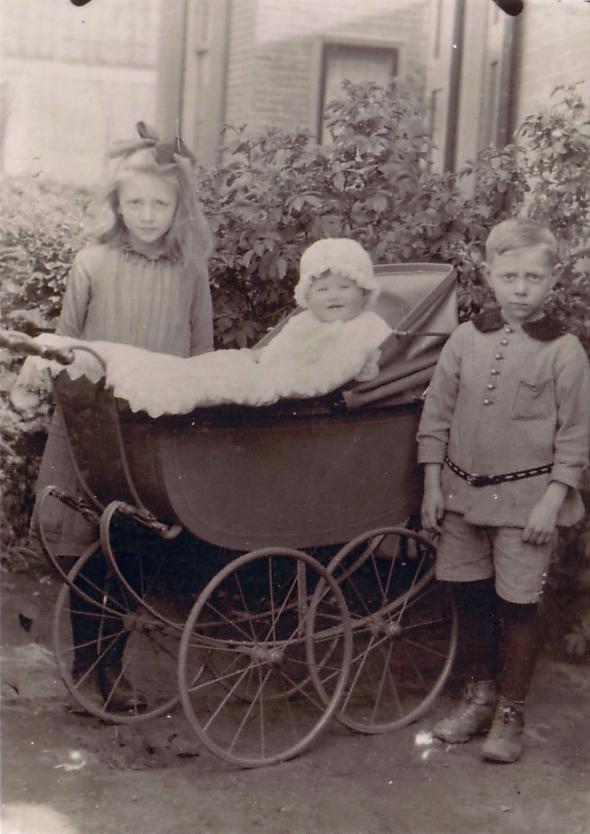 Lisetta Josepha de Ruiter, Hendrikje de Ruiter en Willem de Ruiter