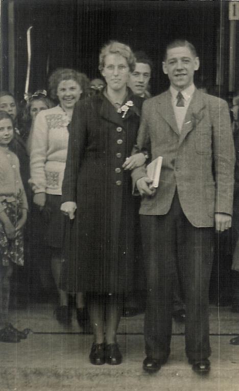 Evertje Christina Hellinga en Gerrit Luijer