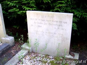 Grafmonument grafsteen Anthonie Jan  Oosterbroek