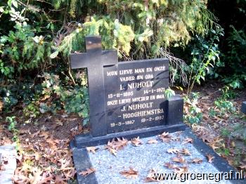 Grafmonument grafsteen Lolke  Nijholt