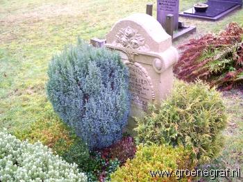 Grafmonument grafsteen Cornelia van Brummelen