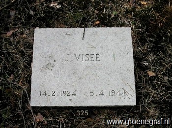 Grafmonument grafsteen Jan  Visee