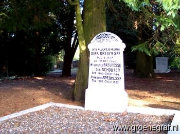 Grafmonument grafsteen Willemijntje  Schouten