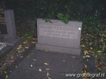 Grafmonument grafsteen Hilde  Fernhout
