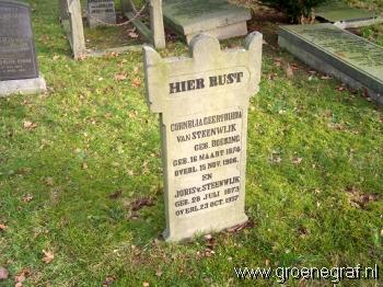 Grafmonument grafsteen Joris van Steenwijk