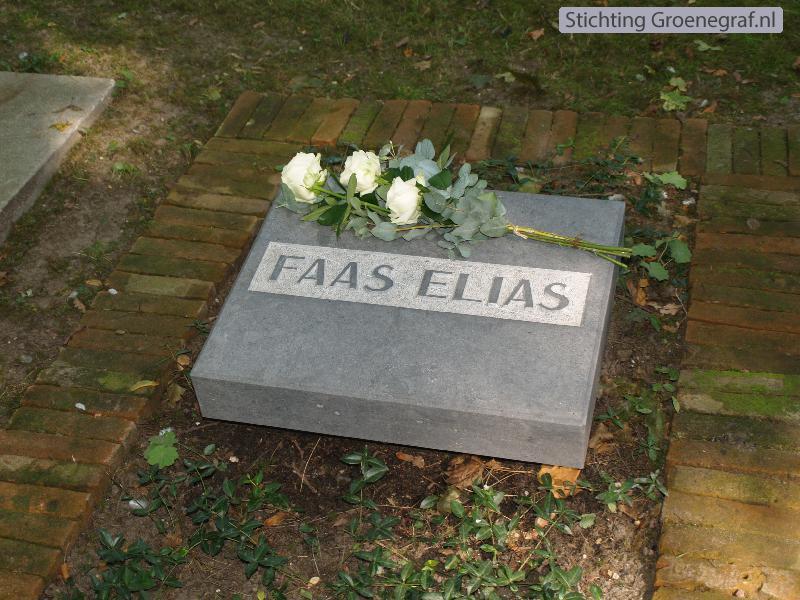 Grafmonument grafsteen Anthonia  Faas Elias