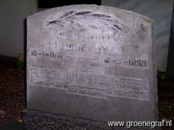 Grafmonument grafsteen Hendrik  Stein