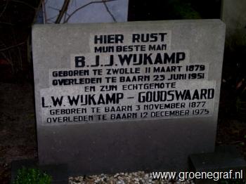 Grafmonument grafsteen Lena Wilhelmina  Goudswaard