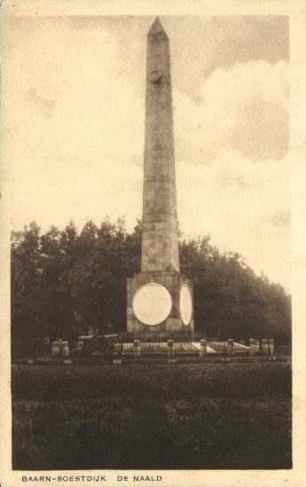 Monument de Naald geplaatst