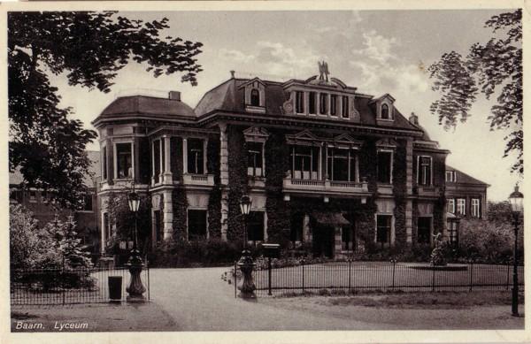 Lyceum in Baarn wordt geopend