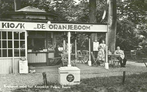 Kiosk aan de Oranjeboom verdwenen