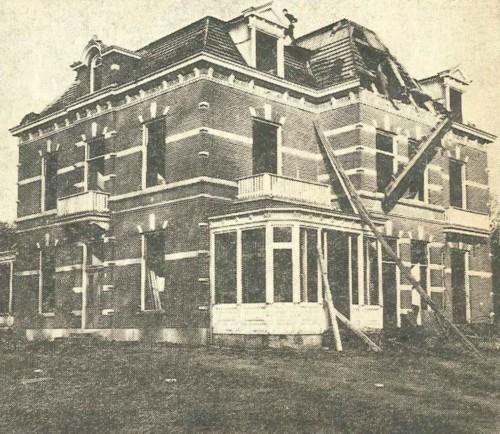 Villa Roosterhoeck onder de slopershamer