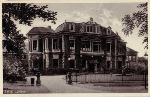 Gebouw Baarnsch Lyceum maakt plaats voor Mavo-School