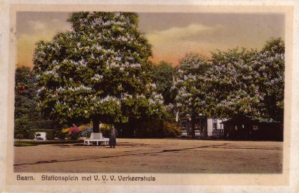 Nieuwe kastanjeboom voor Stationsplein