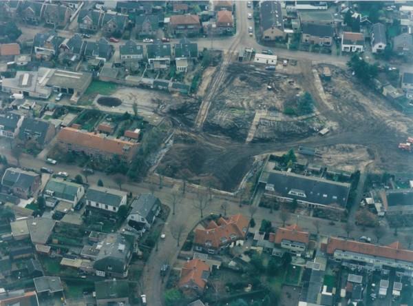 Gasfabriek in Baarn gesloopt.