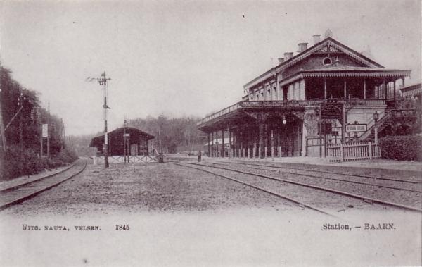 Spoorweglijn langs Baarn geopend