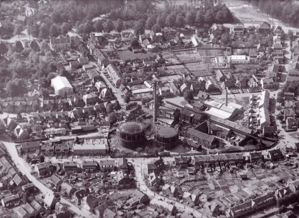Gasfabriek in Baarn
