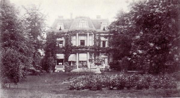 Villa Benthuys (Voor Eng) gebouwd