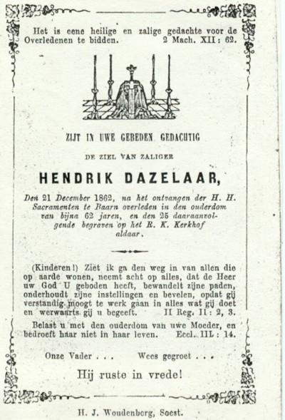 Afbeelding bij Hendrik  Daatzelaar