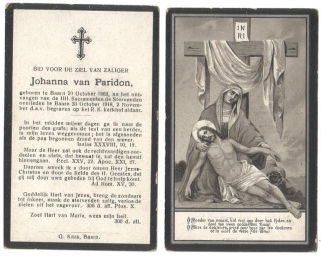 Afbeelding bij Johanna van Paridon