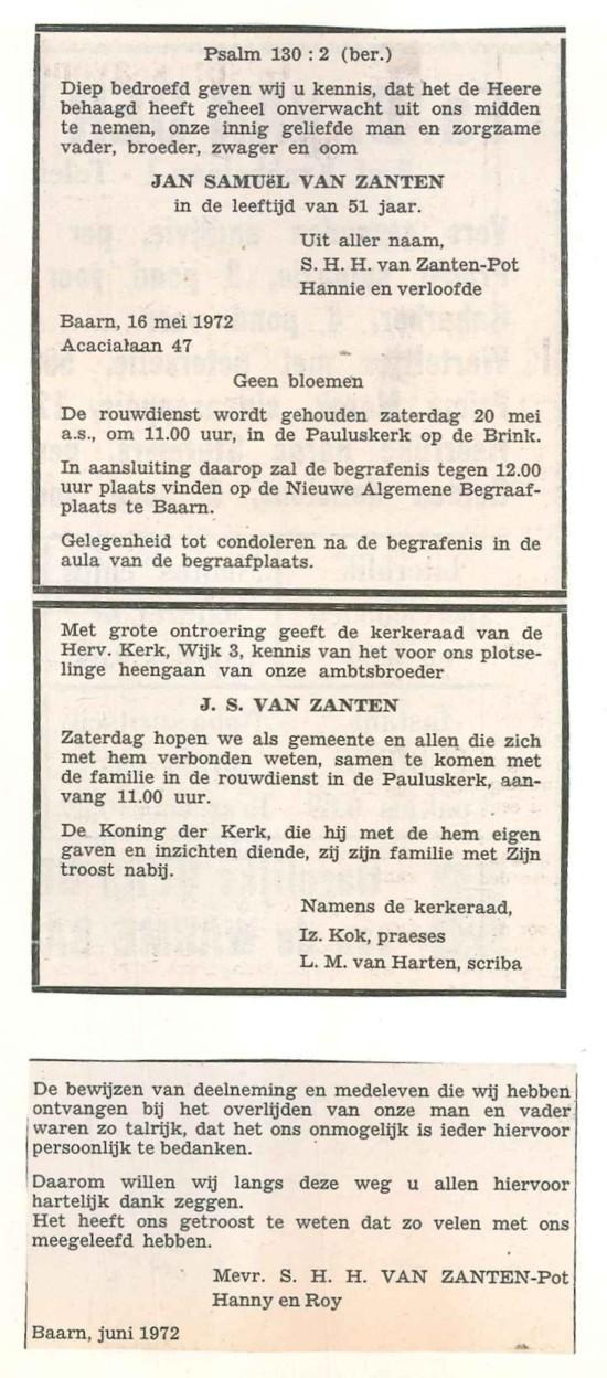 Afbeelding bij Jan Samuel van Zanten