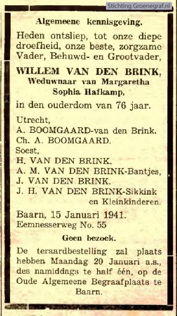 Afbeelding bij Willem van den Brink