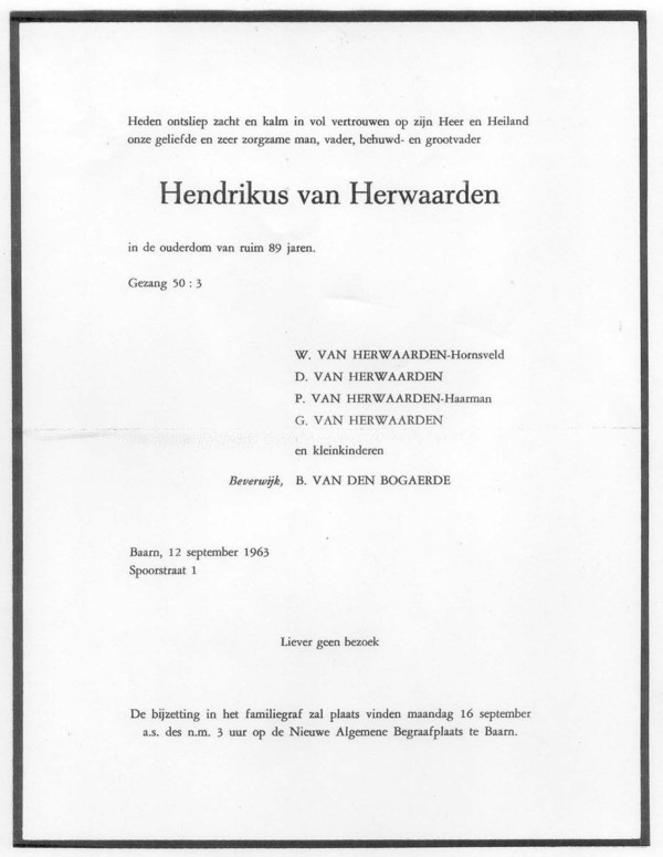 Afbeelding bij Hendrikus van Herwaarden