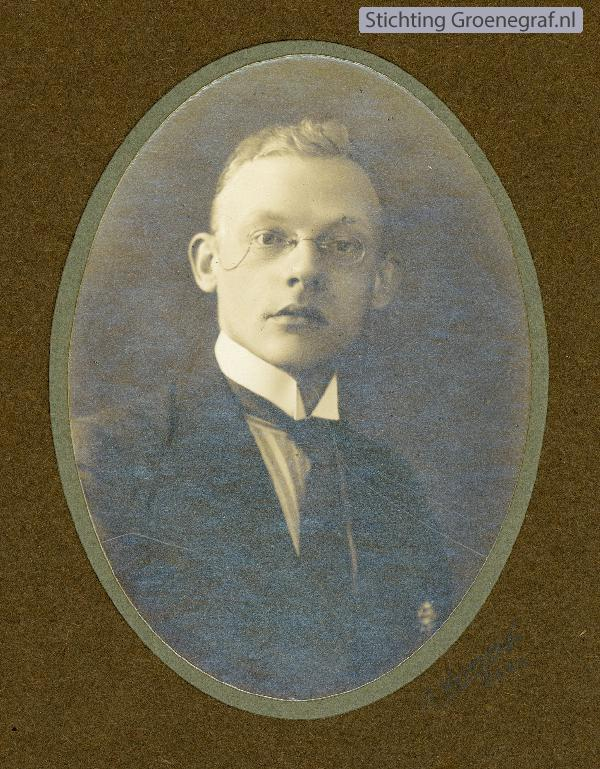 Joop de Smit, onderwijzer Julianaschool Baarn