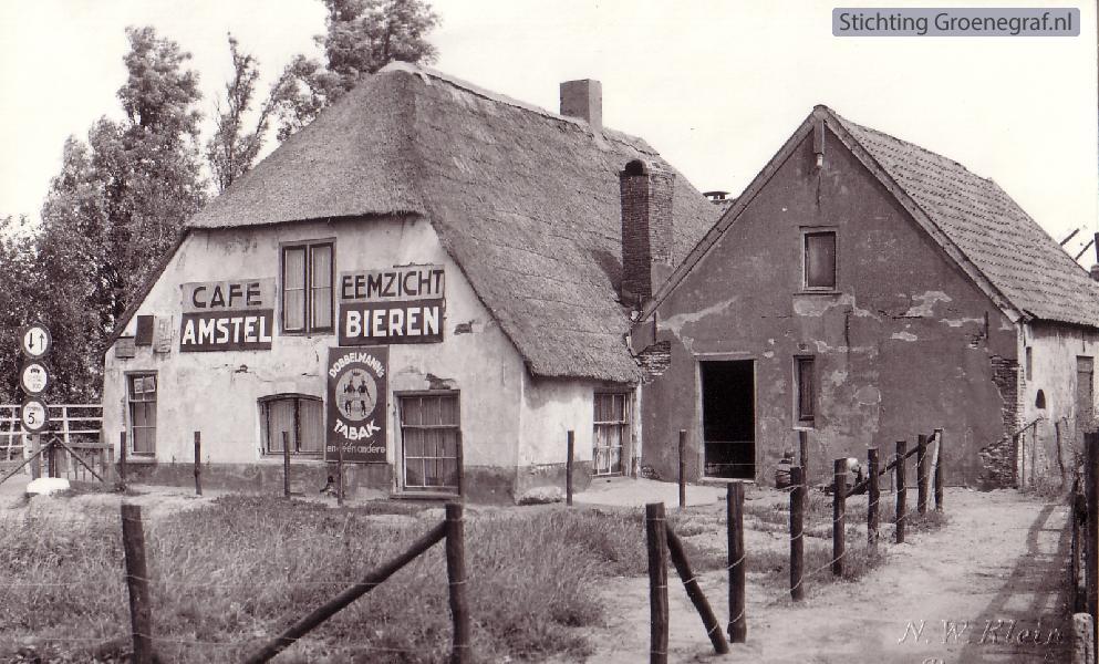 Wie, wat, waar: Café Eemzicht te Eembrugge