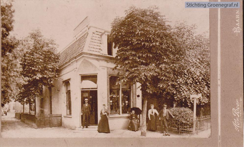 Een foto van Adriaan Boer, Laanstraat Baarn